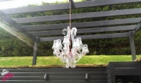 Outdoor Perspex Chandelier
