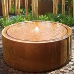 Corten Steel Water Feature