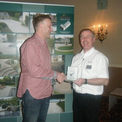 James Bird Landscapes award from the Marshalls Register for ten years as an approved installer