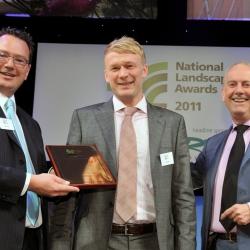 James Bird Landscapes winner Domestic Garden Schemes up to £20,000  and Winner Domestic Garden Scheme between £20,000 to £50,000 at BALI 2011
