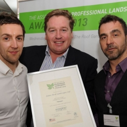 James Bird Landscapes winner of the Project value under £20,000 at APL 2013