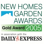James Bird Landscapes Daily Express Gold Award New Homes and Garden Awards