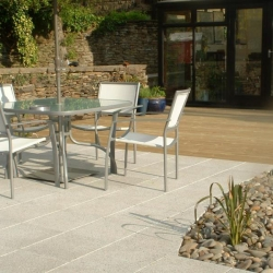 Marhsalls Argent Paving and Softwood Decking