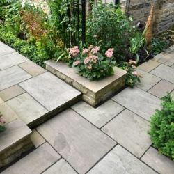 Imported Indian Sandstone Paving - Raj Blend