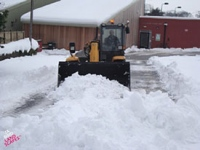 Commercial snow clearing