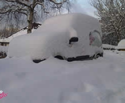 Domestic snow clearing