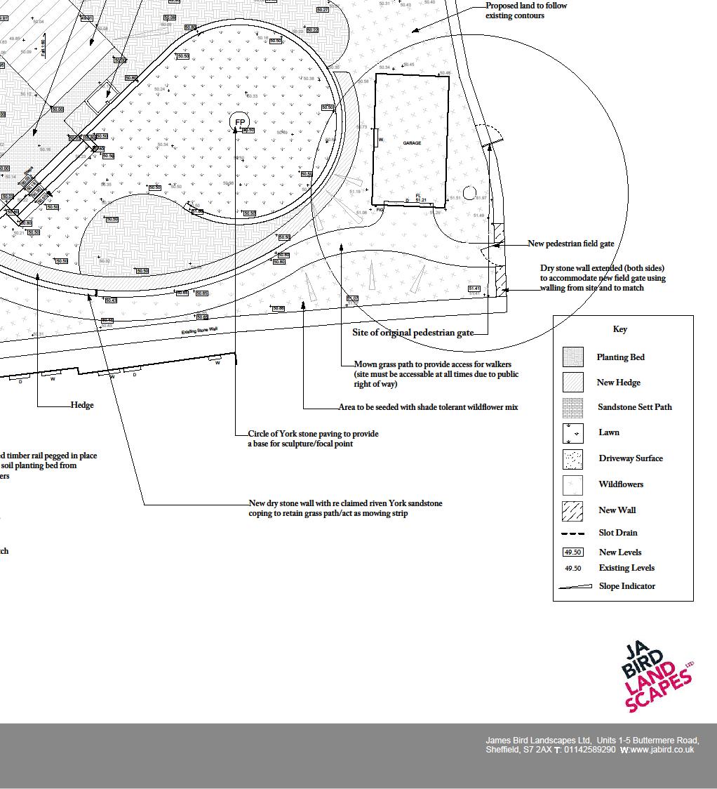Garden landscape design plans