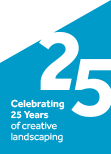 Celebrating 25 years of creative landscaping
