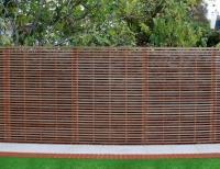 Slatted Fencing Panel