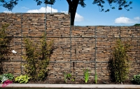 Gabion Baskets with Sandstone