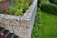 Gabion Baskets with Limestone